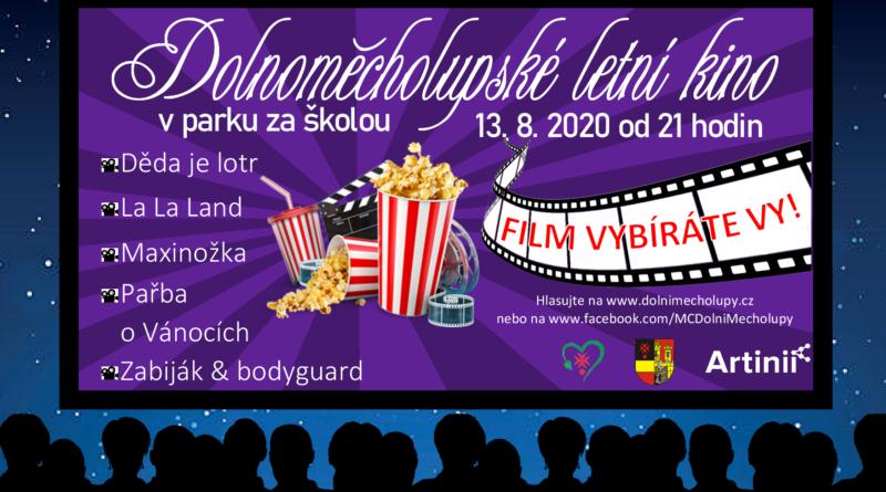 Plakát-letní kino v parku