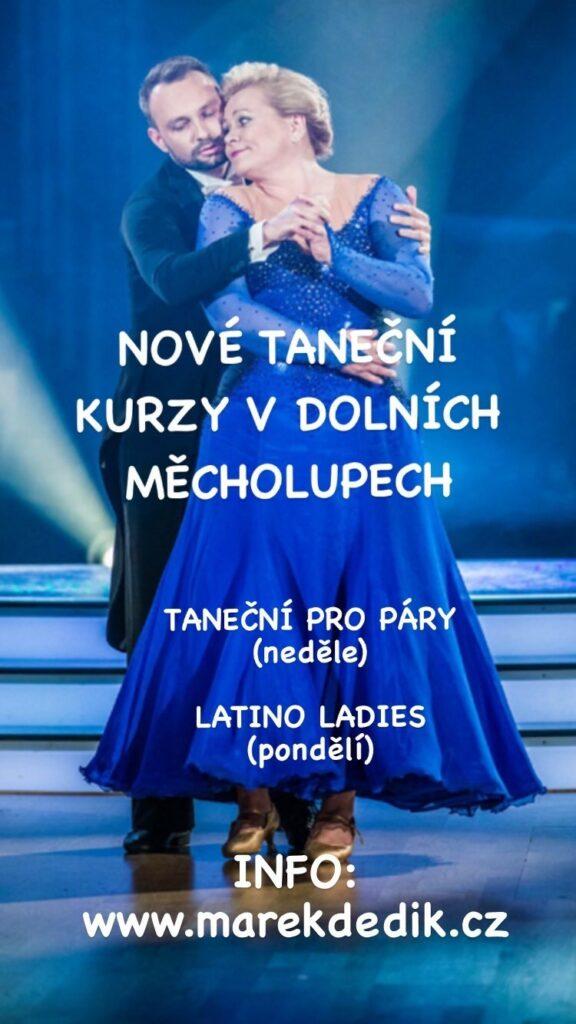 taneční kurzy Marek Dědík