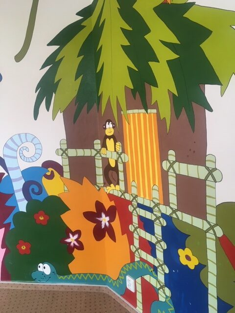 ilustrační obrázek-výmalba Dětské skupiny