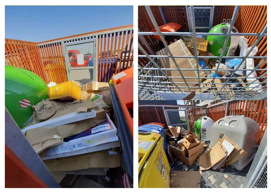 Stanoviště odpadů MH