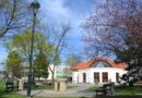 park škola fontána