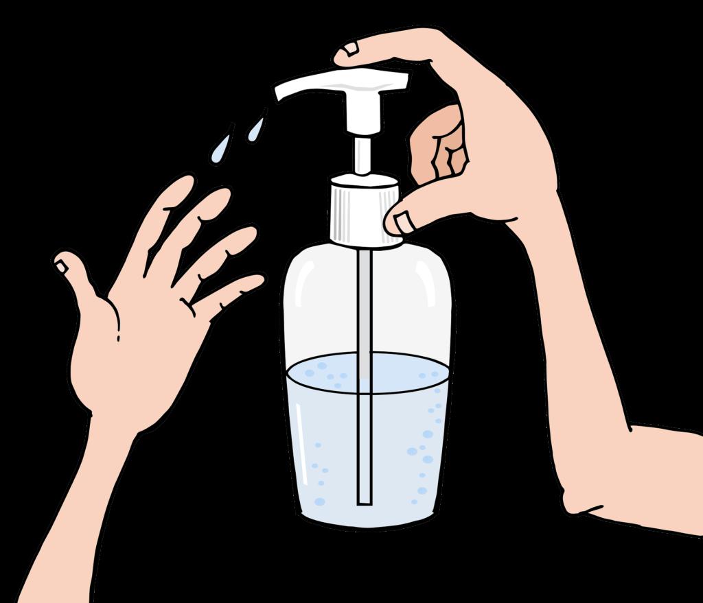 desinfikujte si ruce