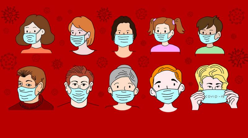 koronavirus - ilustrační obrázek