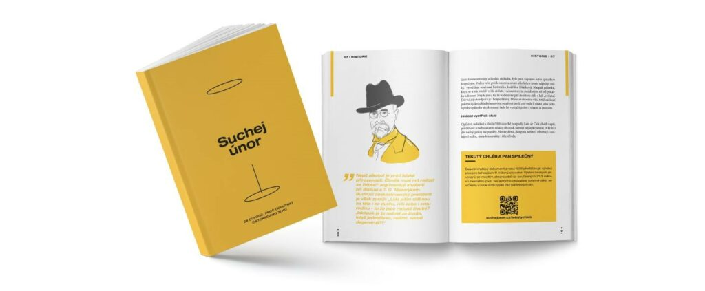 Kampaň Suchej únor - kniha
