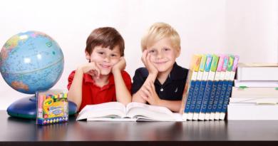 ilustrační obrázek: školáci